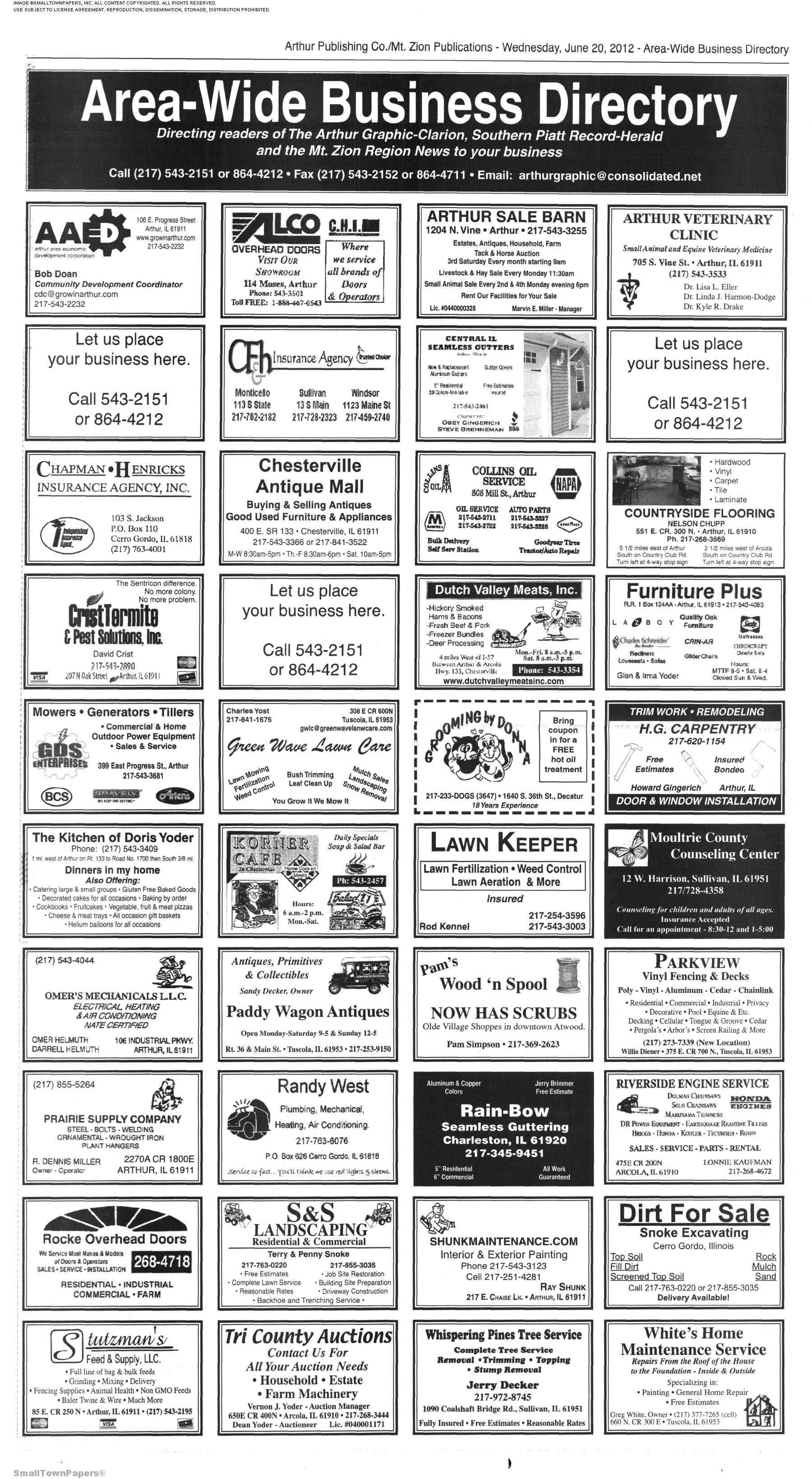 The Arthur Graphic-Clarion June 20, 2012: Page 11